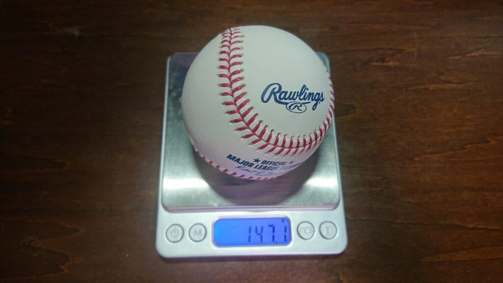 MLB球重さ