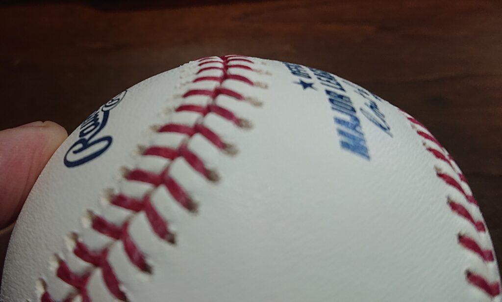MLB球縫い目形状