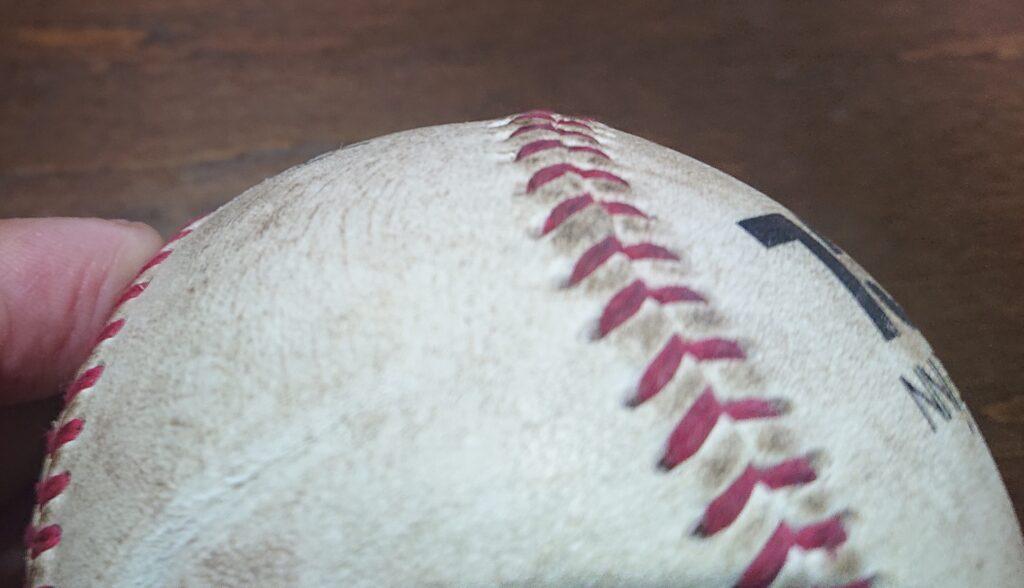 BCリーグ球縫い目形状